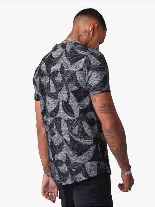 Project X Paris T-Shirt Leaves schwarz
