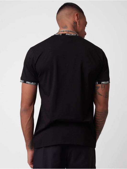 Project X Paris T-Shirt Logo Bands schwarz