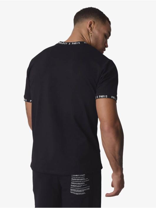 Project X Paris T-Shirt Text schwarz
