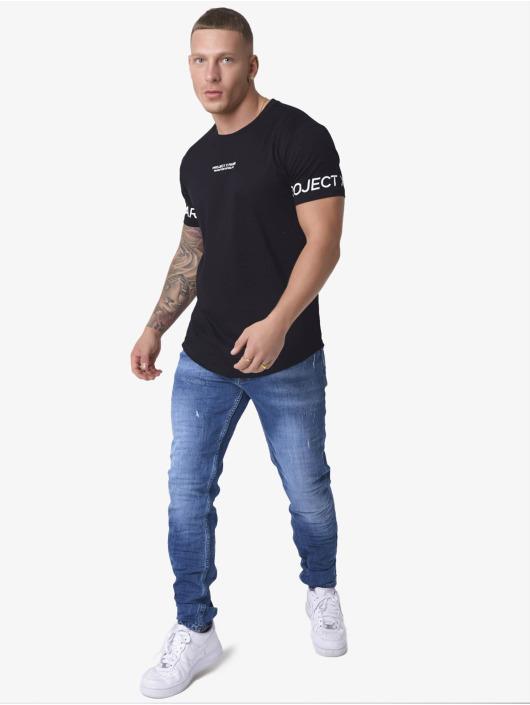 Project X Paris T-shirt Logo Sleeves svart