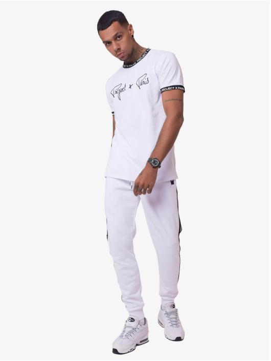Project X Paris T-Shirt Logo Bands white