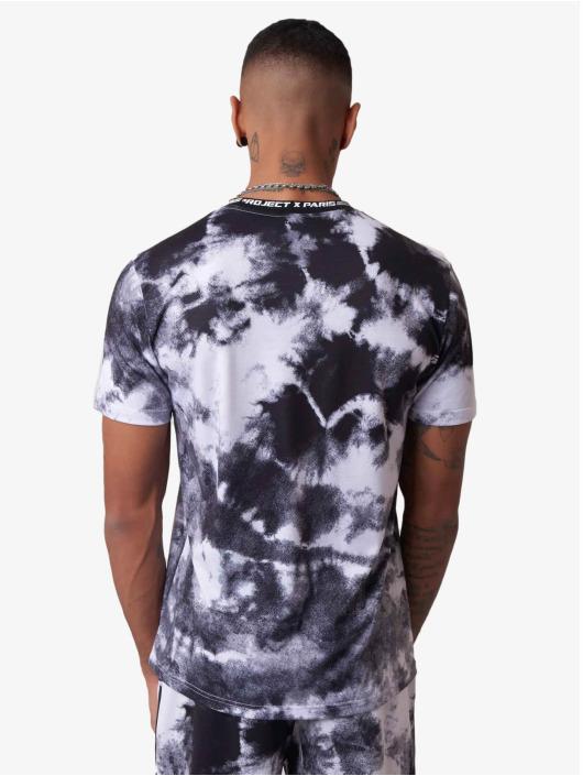 Project X Paris t-shirt Tie & Dye zwart