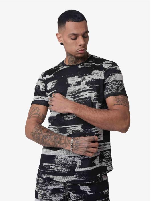 Project X Paris t-shirt Ink Brush Printed zwart