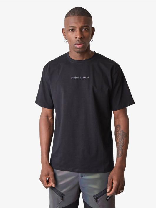 Project X Paris t-shirt Reflective Logo Basic zwart