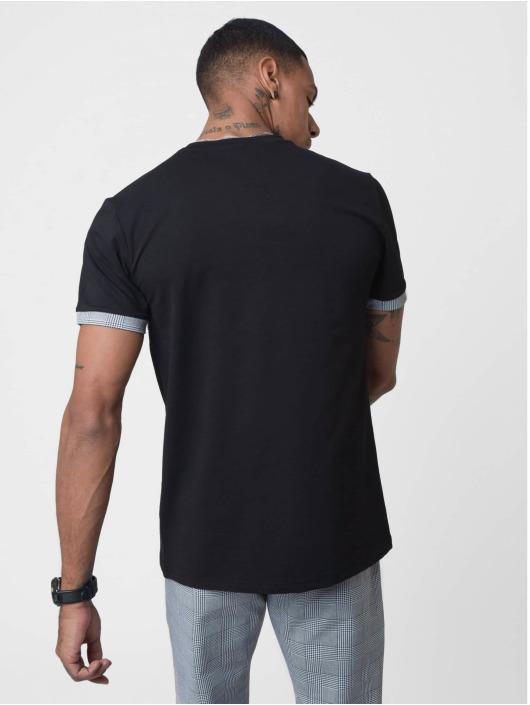 Project X Paris t-shirt Checked Panel zwart