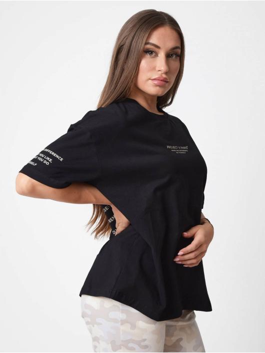 Project X Paris t-shirt Reflect Script zwart