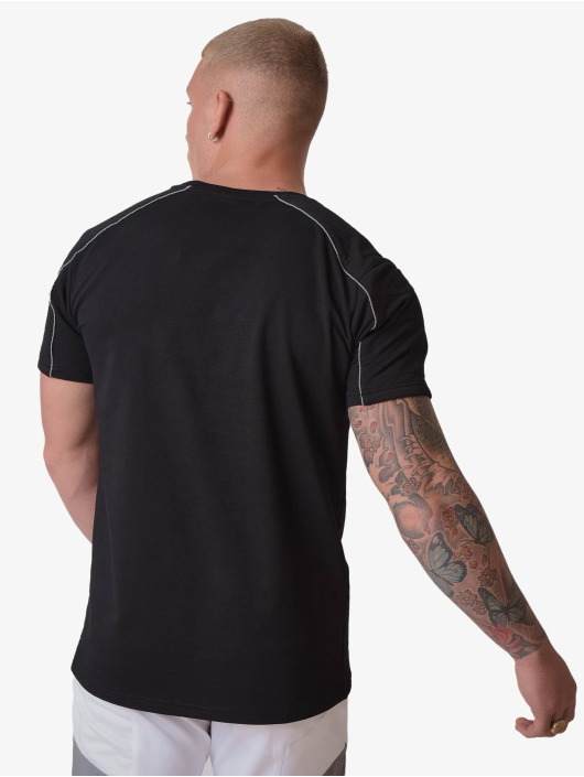 Project X Paris t-shirt Reflective Logo and Piping zwart