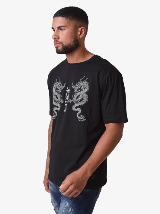 Project X Paris t-shirt Dragons Design zwart