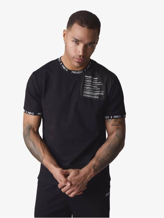 Project X Paris t-shirt Text zwart