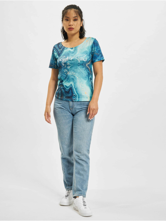 Project X Paris T-shirts Liquid Gradient blå