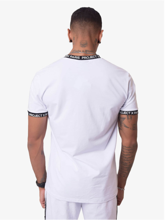 Project X Paris T-shirts Logo Bands hvid