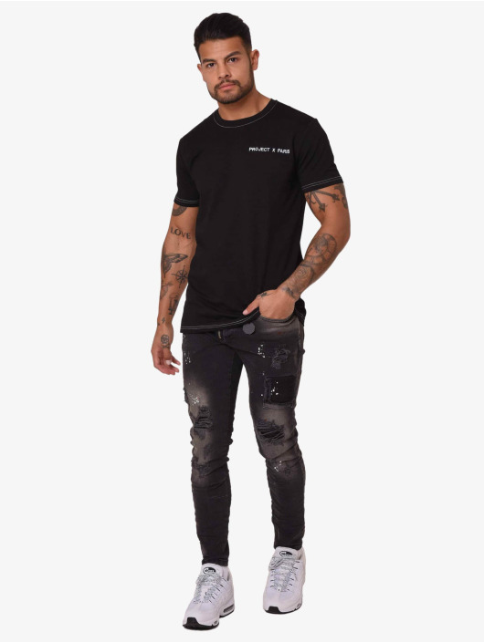 Project X Paris T-shirts Contrast Collar sort
