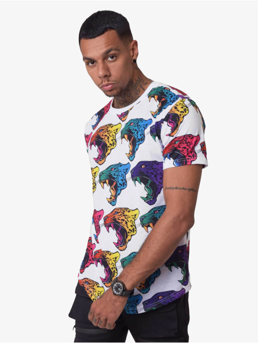 Project X Paris T-Shirty Gradient Jaguar bialy