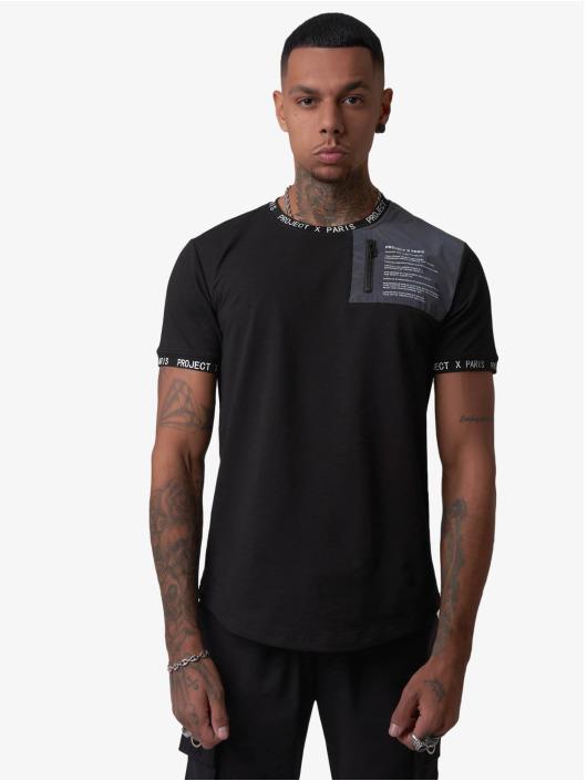 Project X Paris T-Shirty Message czarny