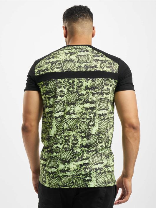 Project X Paris T-Shirty Snakeskin czarny