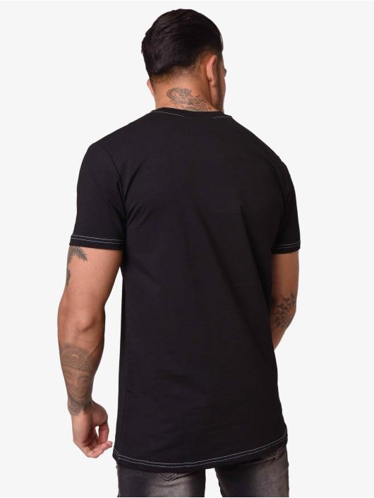 Project X Paris T-Shirty Contrast Collar czarny