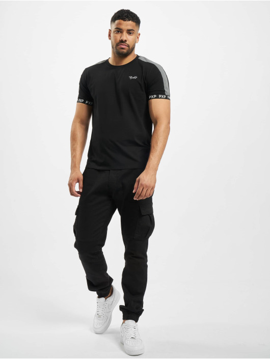 Project X Paris T-Shirty Reflective Track Shoulder czarny