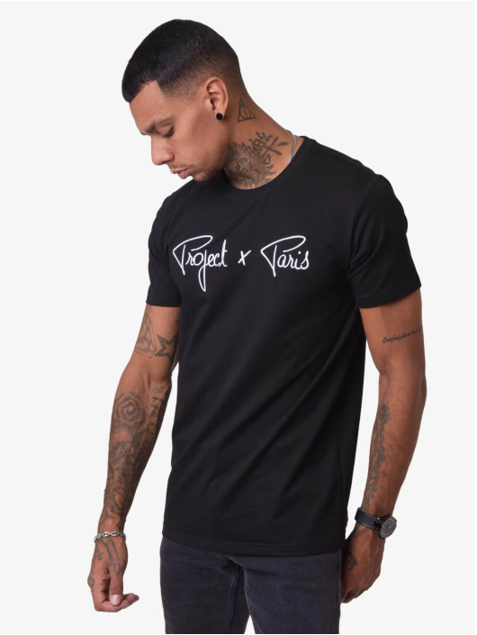 Project X Paris T-Shirty Logo czarny
