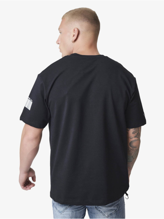 Project X Paris T-Shirty Embroidery Logo Loose czarny