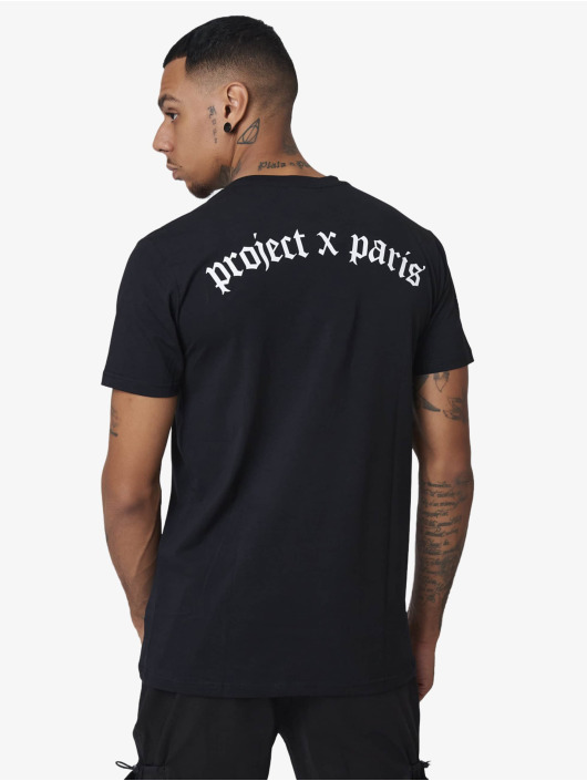 Project X Paris T-Shirty Loose Gothic czarny
