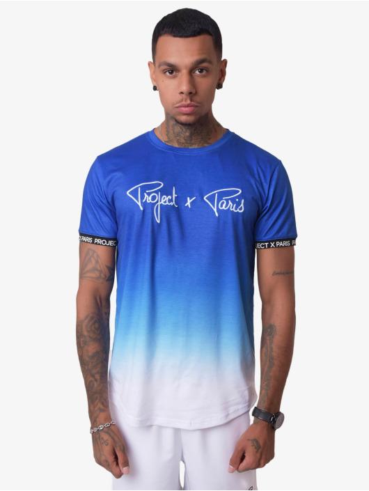 Project X Paris T-Shirty Gradient Summer niebieski