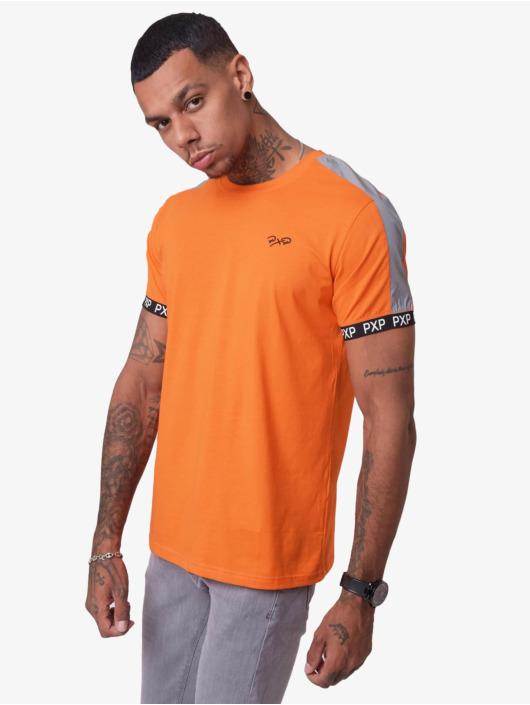 Project X Paris T-Shirty Reflective Track Shoulder pomaranczowy