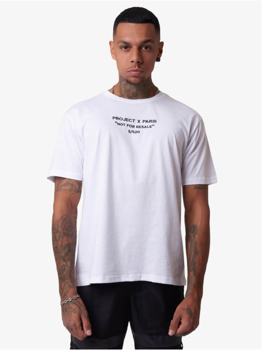 Project X Paris T-skjorter Not For Resale hvit