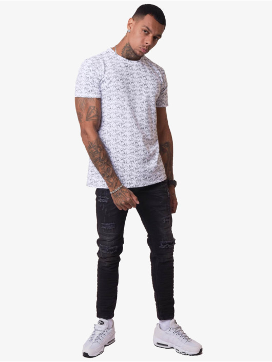 Project X Paris T-skjorter All-Over hvit