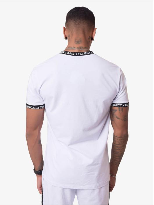 Project X Paris T-skjorter Logo Bands hvit