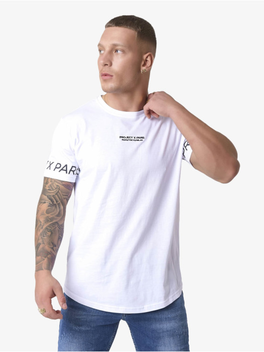 Project X Paris T-skjorter Logo hvit