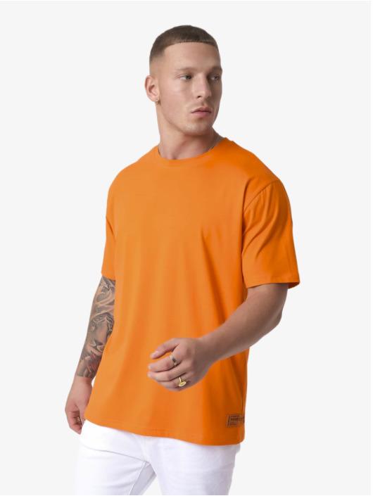 Project X Paris T-skjorter Sleeve Logo oransje