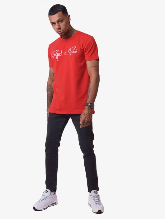 Project X Paris T-skjorter Logo red