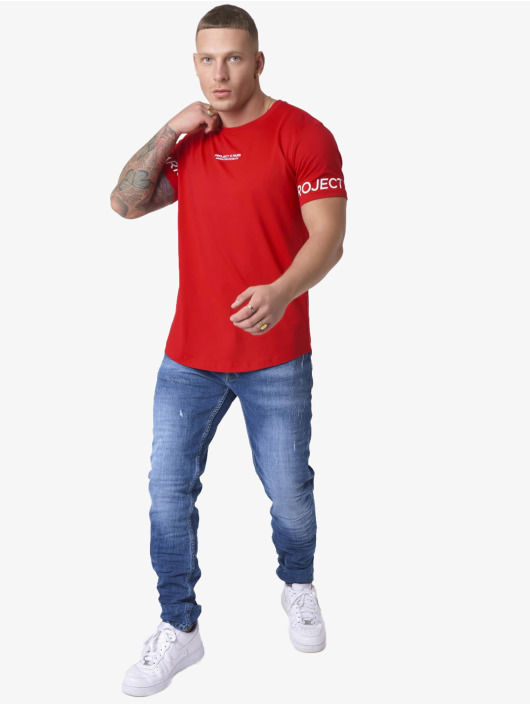 Project X Paris T-skjorter Logo Sleeve red
