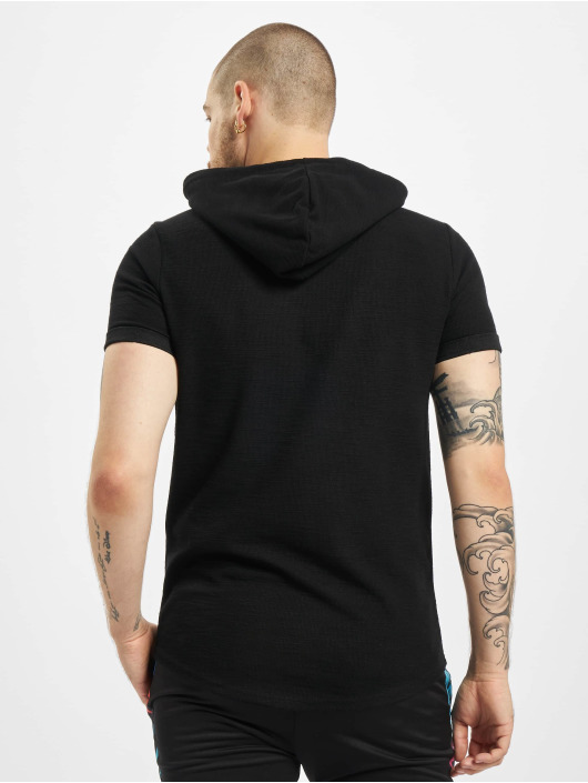 Project X Paris T-skjorter Hooded svart