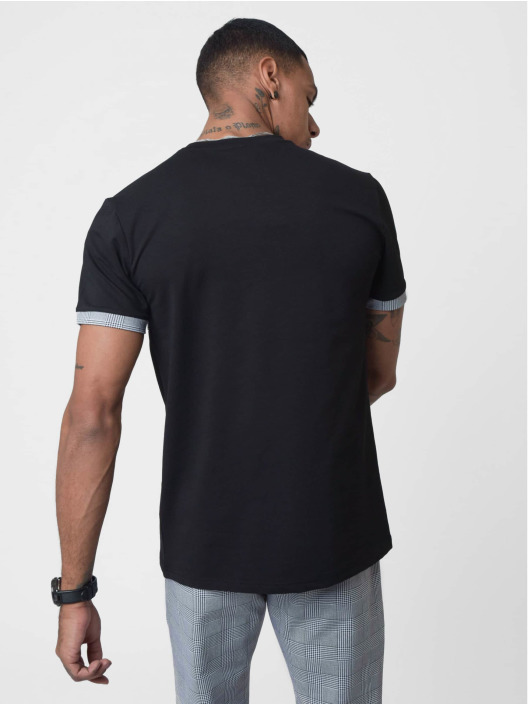 Project X Paris T-skjorter Checked Panel svart