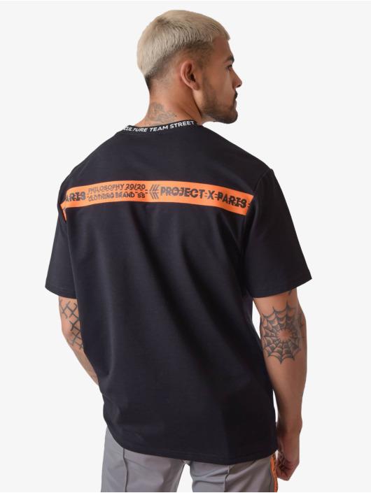 Project X Paris T-skjorter Loose Fitting svart