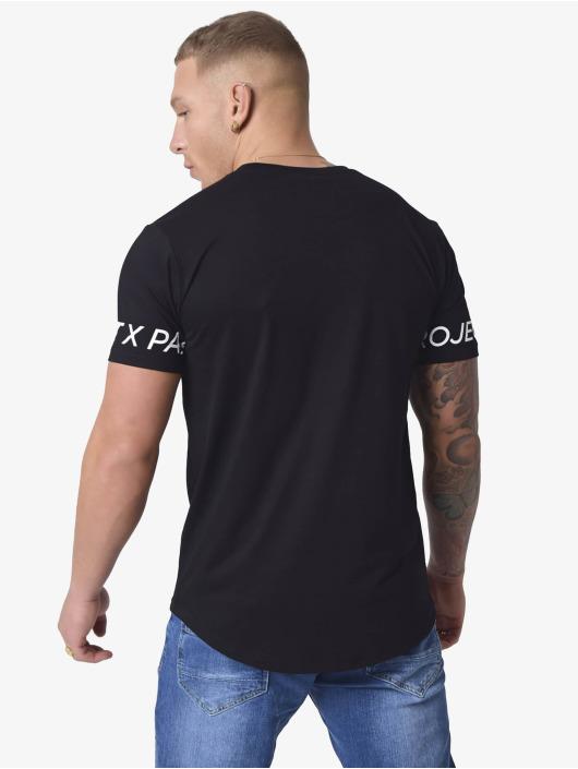 Project X Paris Tričká Logo Sleeves èierna