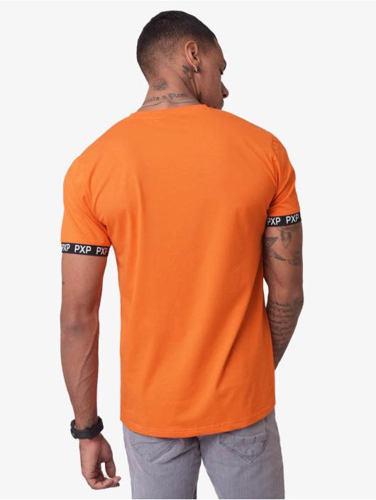 Project X Paris Tričká Reflective Track Shoulder oranžová