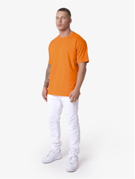 Project X Paris Tričká Sleeve Logo oranžová