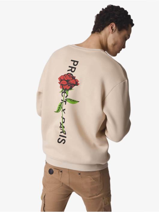 Project X Paris trui Rose Back beige