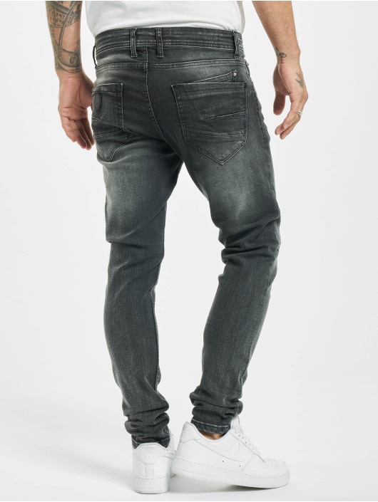Project X Paris Tynne bukser Skinny Distressed svart