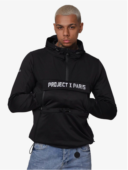 Project X Paris Übergangsjacke Overhead Two Tone schwarz
