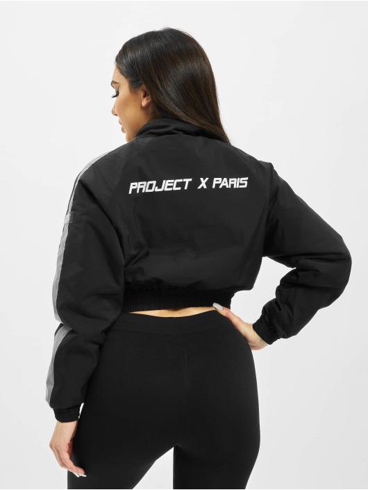 Project X Paris Übergangsjacke Oversize Pockets schwarz