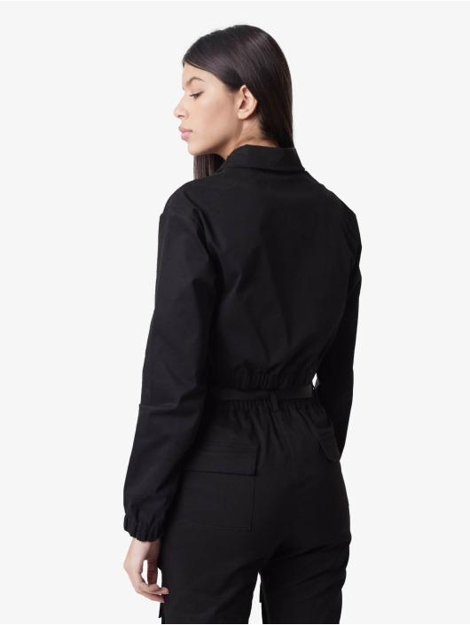 Project X Paris Übergangsjacke Shirt collar Short schwarz