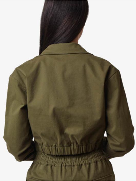 Project X Paris Välikausitakit Shirt collar Short khakiruskea