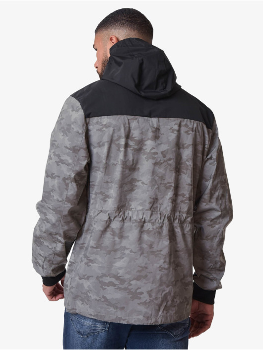 Project X Paris Veste mi-saison légère Camo Reflect Hooded noir