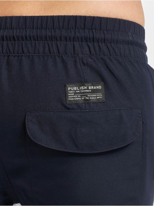 Publish Brand Kúpacie šortky Silas modrá