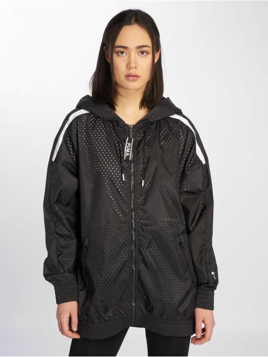 Puma Демисезонная куртка Chase Woven черный