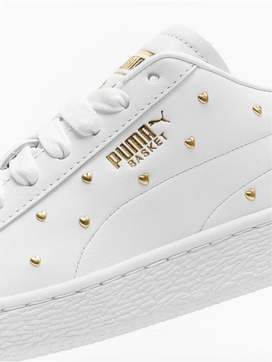 Puma Сникеры Basket Studs белый