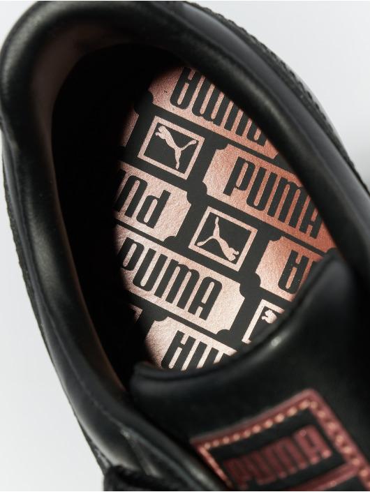 Puma Сникеры Basket Heart Leather черный